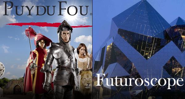 Futuroscope - Puy du Fou