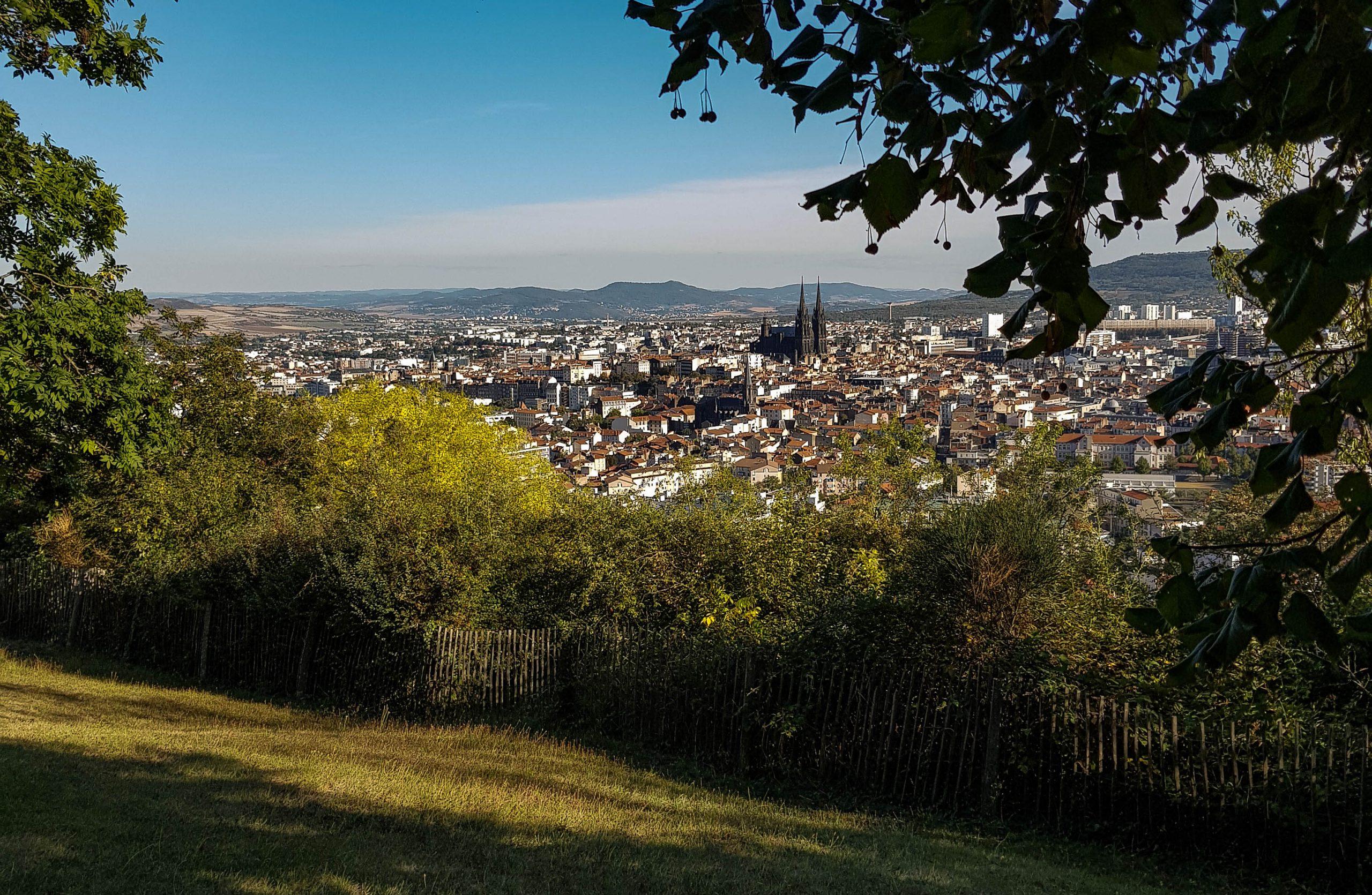 Vue de Clermont-Ferrand